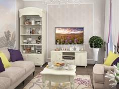 Гарнитур для гостиной Ассоль Плюс Компасс мебель