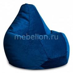 Кресло-мешок Синий Микровельвет XL Dreambag