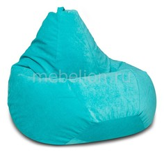 Кресло-мешок Бирюзовый Микровельвет XL Dreambag