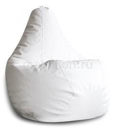 Кресло-мешок Белая ЭкоКожа XL Dreambag