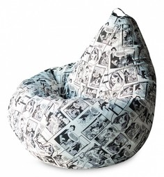 Кресло-мешок Комикс Ч/Б XL Dreambag
