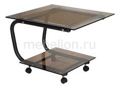 Стол журнальный Дуэт 9 черный Мебелик