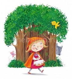 Панно (30х40 cм) Little Red Riding Hood 315760 ОГОГО Обстановочка