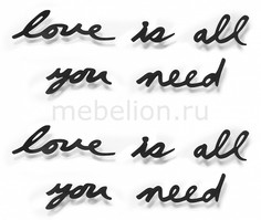 Панно (33.3х41.3 см) Love is all you need 470580-040 Umbra