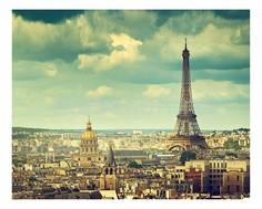 Панно (50х40 см) Париж 1735004К4050 Ekoramka