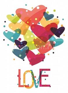 Панно (40х40 см) Love 11807008 Ekoramka