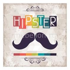 Панно (40х40 см) Hipster 1707116К4040 Ekoramka
