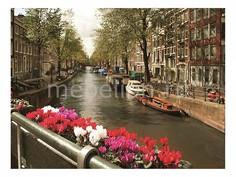Панно (80х60 см) Амстердам 111710111 Ekoramka