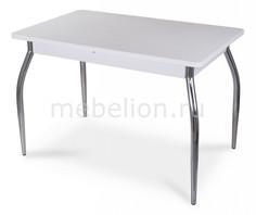 Стол обеденный Альфа ПР-1 с камнем Домотека