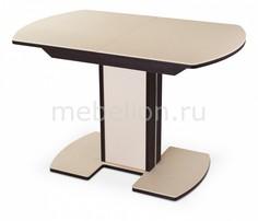 Стол обеденный Альфа ПО-1 с камнем Домотека