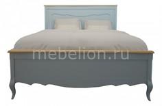 Кровать двуспальная Leontina Этажерка