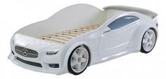 Кровать-машина Мерседес-EVO с подсветкой фар МебеЛев