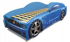 Кровать-машина Мустанг с подсветкой дна МебеЛев