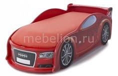 Кровать-машина Ауди А4 с подсветкой фар МебеЛев