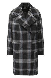 Шерстяное пальто в клетку Stella McCartney