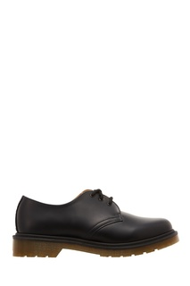Кожаные ботинки на плоской подошве Dr Martens