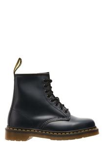 Черные кожаные ботинки на шнуровке Dr Martens
