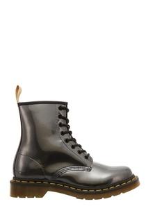 Блестящие ботинки Dr Martens