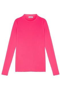 Розовый джемпер в рубчик Balenciaga