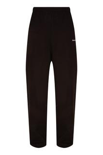 Черные хлопковые брюки Balenciaga
