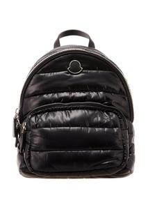 Черный текстильный рюкзак Moncler