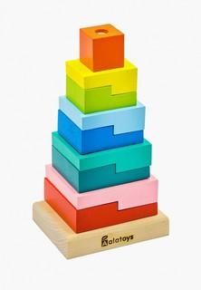 """Набор игровой Alatoys Пирамидка """"Ступеньки"""" Пирамидка """"Ступеньки"""""""