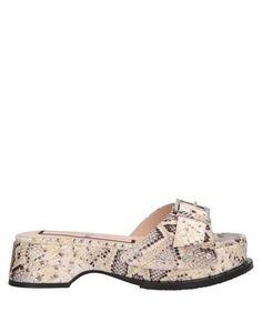 Домашние туфли N° 21