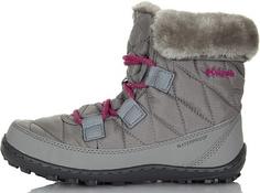 Ботинки утепленные для девочек Columbia Youth Minx, размер 31.5