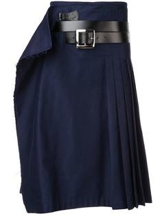 юбка с запахом и складками Charles Jeffrey Loverboy