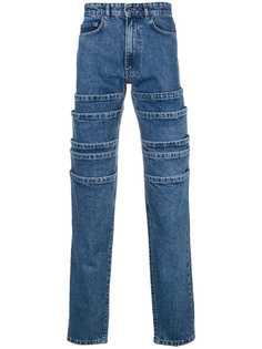 прямые джинсы с панельным дизайном Y / Project