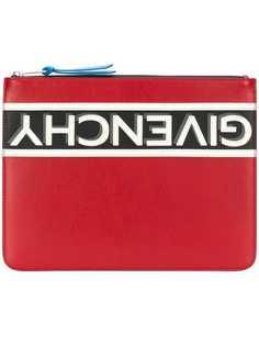 клатч с логотипом Givenchy