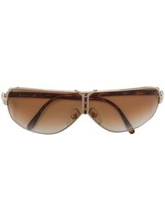овальные солнцезащитные очки Christian Dior Vintage