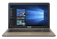 "Ноутбук ASUS VivoBook X540NV-GQ004T, 15.6"", Intel Pentium N4200 1.1ГГц, 4Гб, 500Гб, nVidia GeForce 920MX - 2048 Мб, Windows 10, 90NB0HM1-M00060, черный"