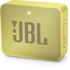 Портативная колонка JBL GO 2, 3Вт, желтый [jblgo2yel]