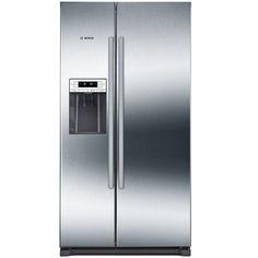 Холодильник BOSCH KAI90VI20R, двухкамерный, нержавеющая сталь
