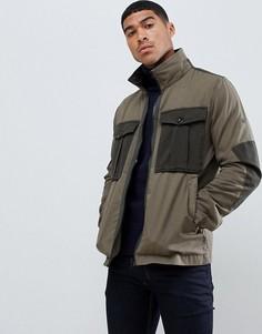 Куртка в стиле милитари G-Star Type C - Зеленый