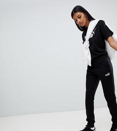 Черные трикотажные брюки Puma Essentials - Черный