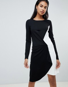 Асимметричное платье Y.A.S Tablocka - Черный