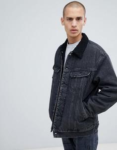 Джинсовая куртка Lee - Черный