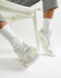 Белые кроссовки adidas Originals Yung-1 B37616 - Белый