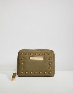 Мини-кошелек с заклепками Carvela Abi - Зеленый