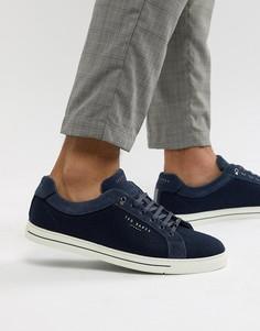 Темно-синие кроссовки Ted Baker - Синий