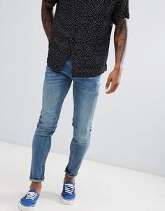 Синие джинсы стретч Farah Drake - Синий