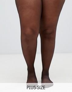 Черные колготки со швами сзади Pretty Polly curve - Черный