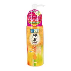 Гидрофильное масло для лица HADA LABO GOKUJYUN с гиалуроновой кислотой 200 мл