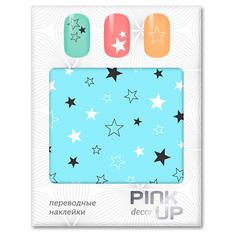 Наклейки для ногтей переводные PINK UP NAIL DESIGN тон 580