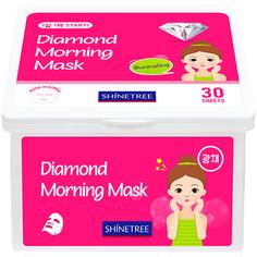 Маска для лица SHINETREE утренняя для сияния кожи 30 шт