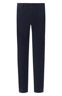 Хлопковые брюки прямого кроя Moncler