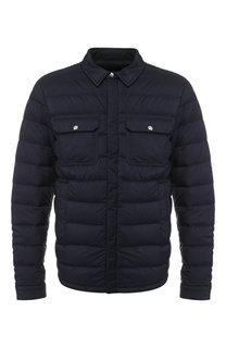 Пуховая куртка Caph на молнии с капюшоном Moncler