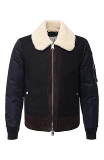Пуховая куртка Plovan на молнии с отложным воротником Moncler